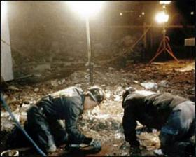 Photo: ATF special agents working inside the blast scene of the 1993 World Trade Center bombings.