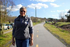 Durham Parks and Recreation Director Rhonda B. Parker says trail safety is a priority.