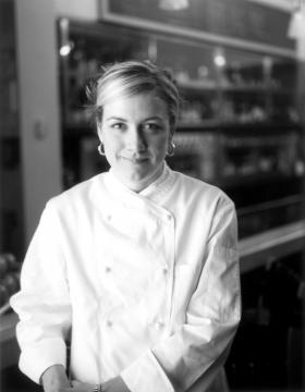 Chef Ashley Christensen is a finalist for the James Beard Award for Best Chef in the Southeast.