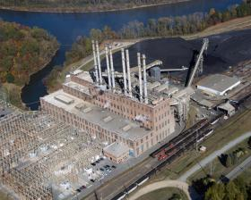 Riverbend Steam Station, a coal-fired generating facility in Gaston County, NC.  Riverbend will be retired by 2015 as part of Duke Energy's strategy to modernize its power plants.