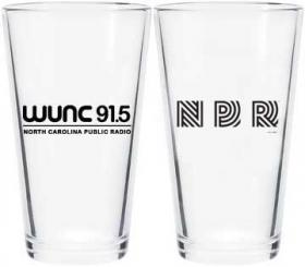 WUNC / Vintage NPR Pint Glass