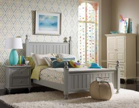 Pieces from Stanley Furniture's Young America collection.