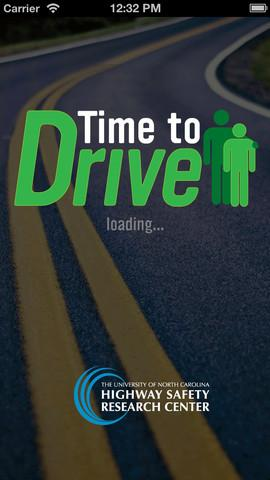 The Time to Drive app.