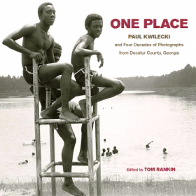 The cover of One Place: Paul Kwilecki and Four Decades of Photographs from Decatur County, Georgia.  Edited and with an introduction by Tom Rankin, coedited by Iris Tillman Hill.