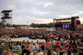Paramore played at Raleigh's Red Hat Amphitheater last summer.