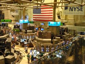 New York Stock Exchange on Wall Street