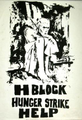 Illustration: A poster in support of the hunger strike in the H-blocks of Northern Ireland's Maze Prison