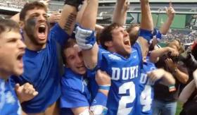 The Duke Mens Lacrosse Team won its second national title.