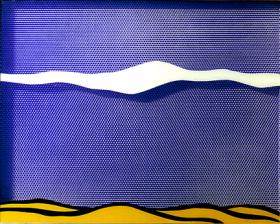 Illustration: Arctic Landscape by Roy Lichtenstein