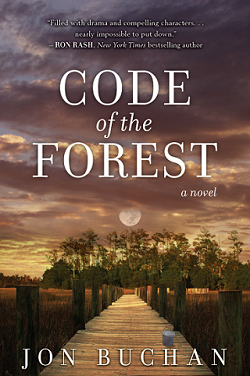 Cover of Jon Buchan's book, 'Code of the Forest'