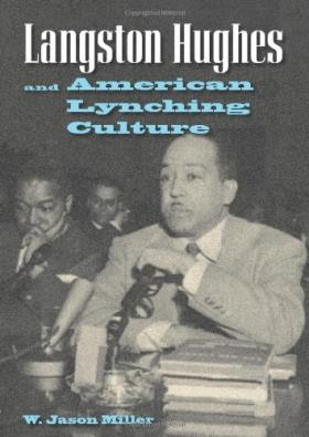 Book cover, 'Langston Hughes and American Lynching Culture'