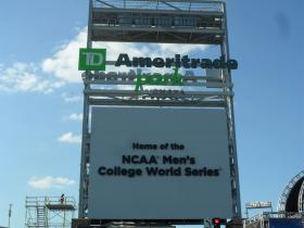 College Baseball World Series in Omaha