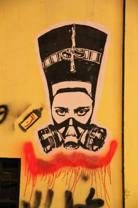 Photo: Grafitti in Cairo