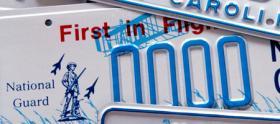 License plates, tag.