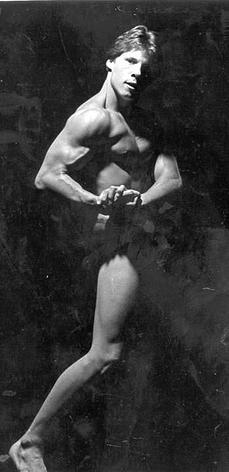 Greg Stott at 16 years old, when he first started competing.