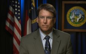 McCrory spoke about his decision to sign HB 589 in a video.