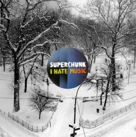 The album cover for Superchunk's latest alum,'I Hate Music.'