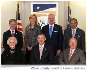 The Wake County Board of Commissioners