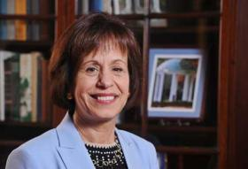Carol Folt is the first female Chancellor of UNC Chapel Hill.