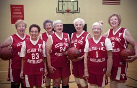 The Fabulous 70s Senior Women's Basketball Team