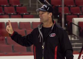 Carolina Hurricanes coach Kirk Muller