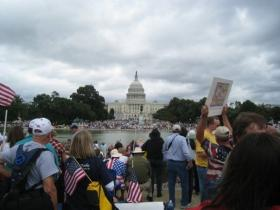 Tea Party Protest in DC