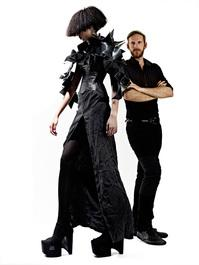 """Justin LeBlanc teaches fashion and design at North Carolina State University and he was a finalist on the Lifetime reality series """"Project Runway"""""""