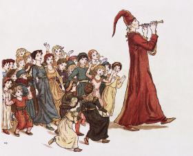 Artist rendering of the Pied Piper