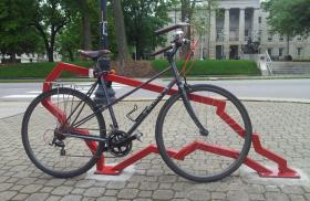 NC state bike rack