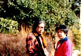 Yuri Yamamoto and her dad