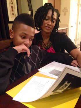 Parent DeNille Amendola hopes to send her 11-year-old son to a private school next year with help from the state's new voucher program.