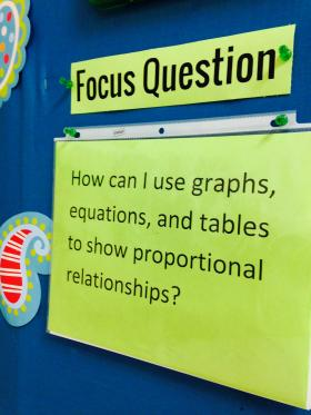 Focus Questions Common Core