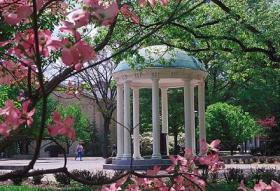 The Old Well at UNC-Chapel Hill.