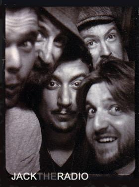 Jack the Radio in a photobooth