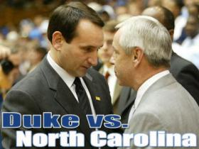 Rivals Duke and UNC Basketball will face off Thursday after winter weather canceled their last match-up.