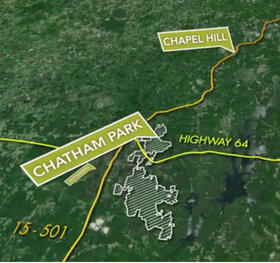 The Chatham Park project could boost Pittsboro's population to 60,000 people