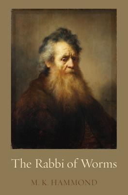 Book cover depicting the bearded Rabbi of Worms