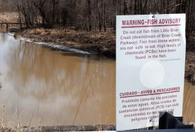 PCBs (Polychlorinated Biphenyls) were chemicals used in manufacturing from the 1920s to 1970s. They've made the fish in Little Briar Creek unsafe for human consumption.