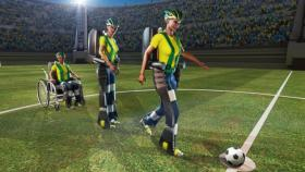 A teen wearing an exoskeleton will kick off soccer's biggest event.