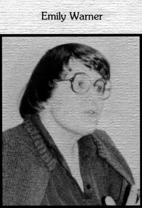 Mrs. Warner from the 1986 yearbook