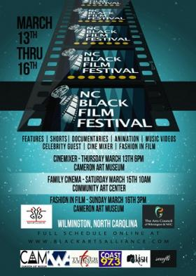 North Carolina Black Film Festival Flyer