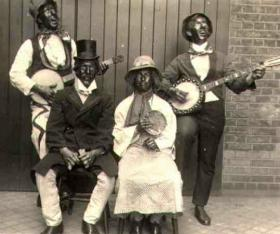 This is an example of a mInstrel show in the U.S.