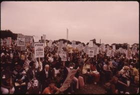 Protest for economic equality