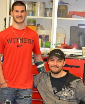 Brandon Jeffries (left) and Erik Fugunt