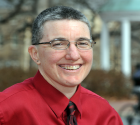 Headshot photo of Terri Phoenix, the director of the LGBTQ Center at UNC-Chapel Hill.