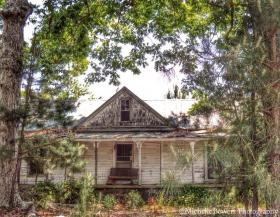 Michelle Bowers documented this abandoned home in rural NC