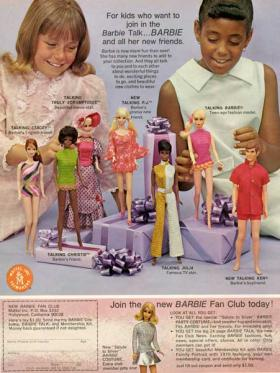 Barbie Doll ad from Duke University's Hartman Center. Part of Mad Men Mondays.