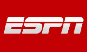 Logo for ESPN. Sport Science is an ESPN TV series