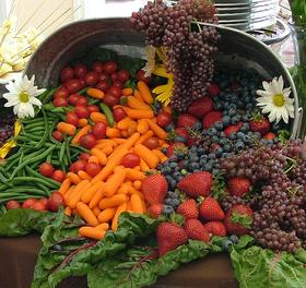 A picture of fresh produce.