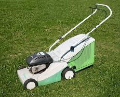 A picture of a Viking gas-powered lawnmower.